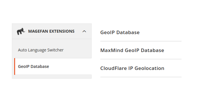 Magento 2 GeoIP Database