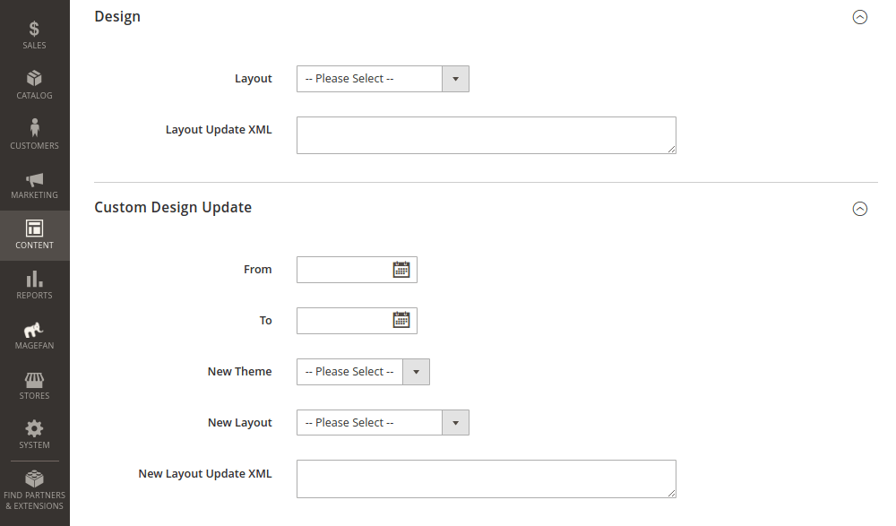 Tag Page Design and Custom Design Update