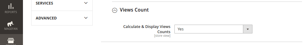 Blog Post View Count