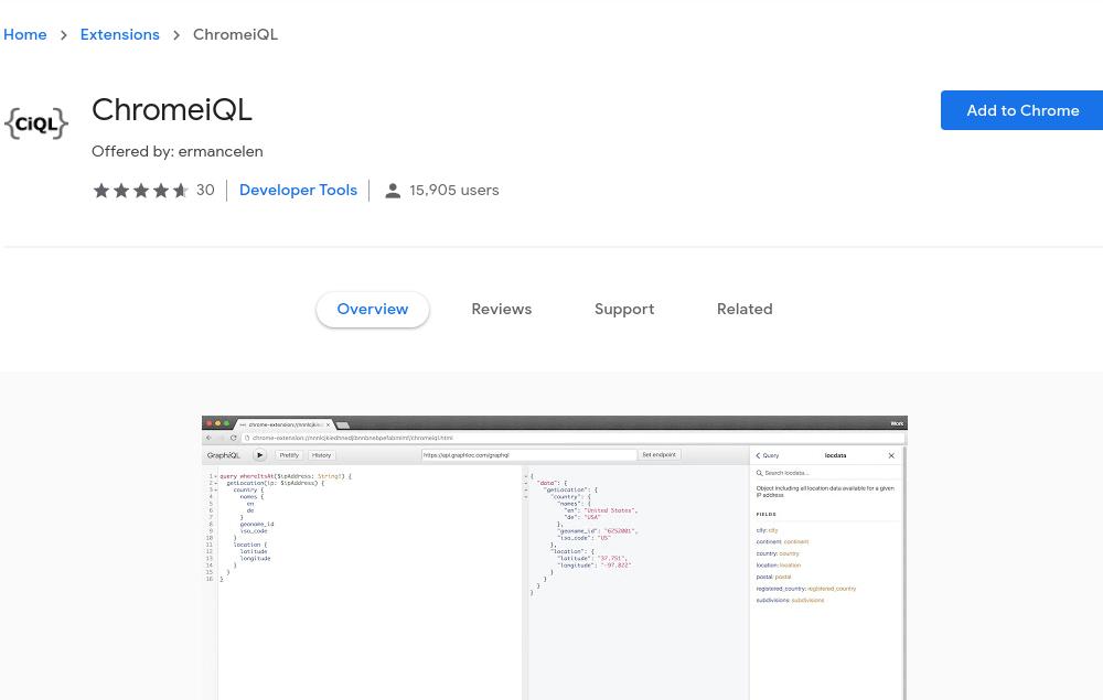 Chromeigl Extension