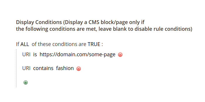 Display CMS Block in Magento 2 by URL Attribute
