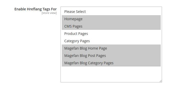 Magento 2 Alternate Tags for CMS Page