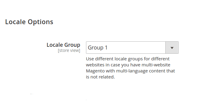 Magento 2 Alternate Tags Locale Group