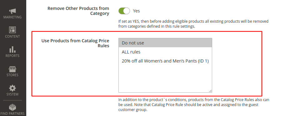 Magento 2 Dynamic Category Catalog Price Rules