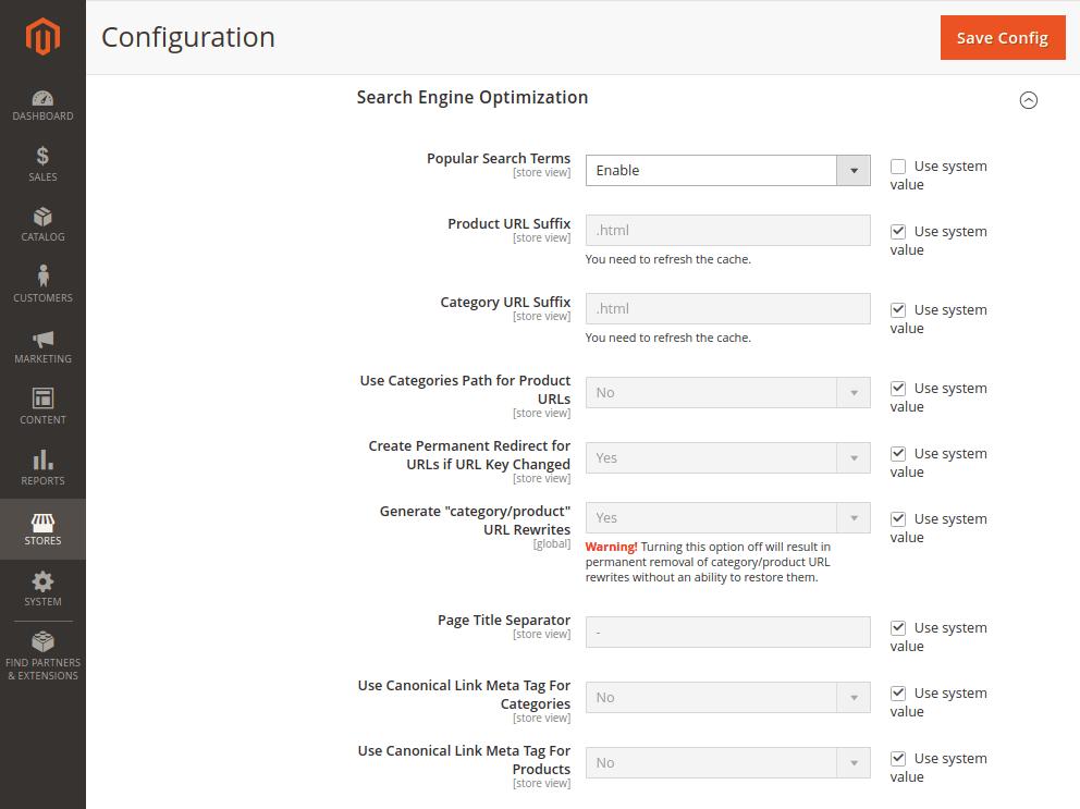 Magento 2 Catalog Search Optimization