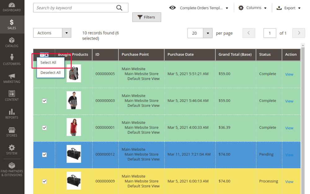 Magento 2 Delete All Orders