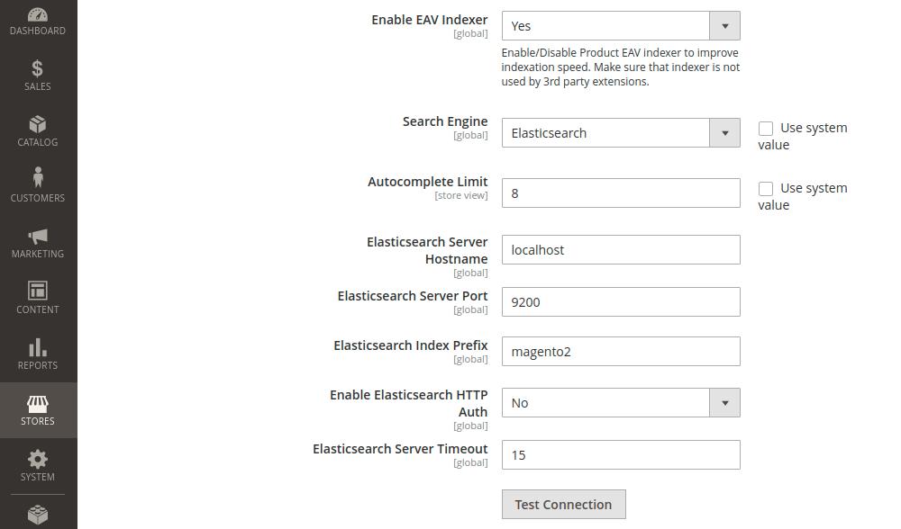 Magento 2 Elasticsearch Search Engine