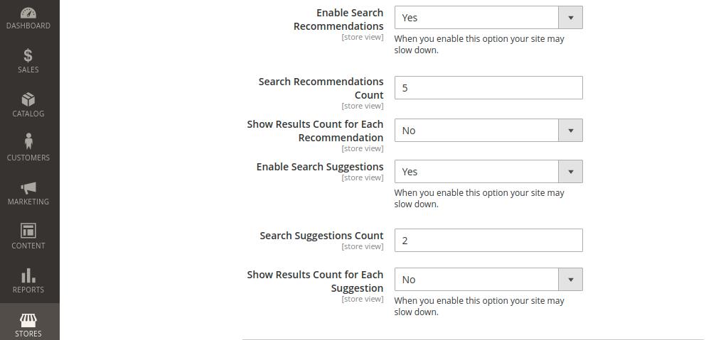 Magento 2 Elastic Search Engine