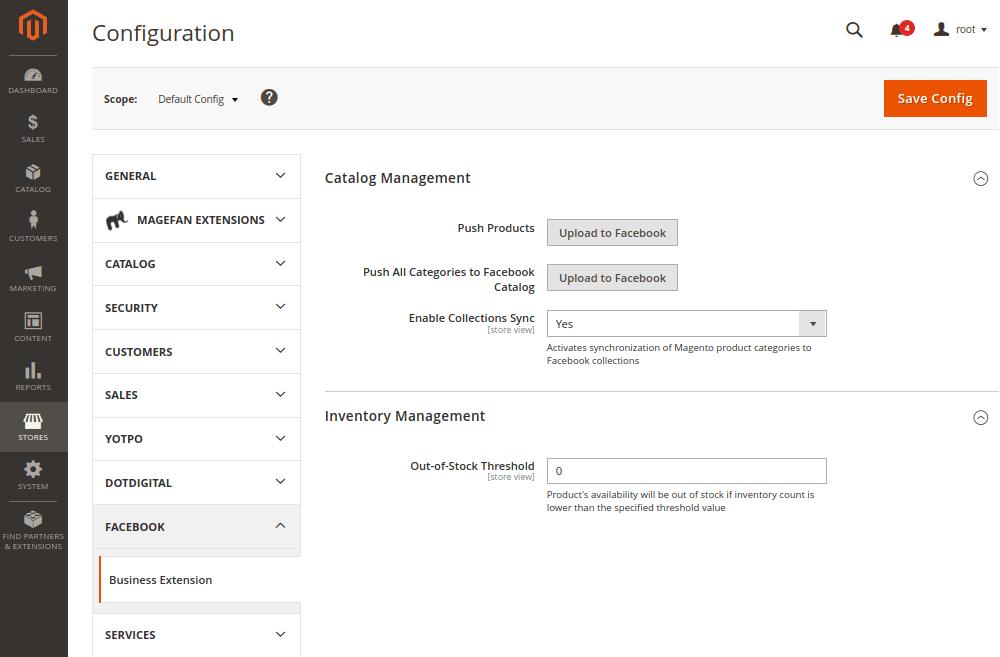 Magento 2 Facebook Integration Extension