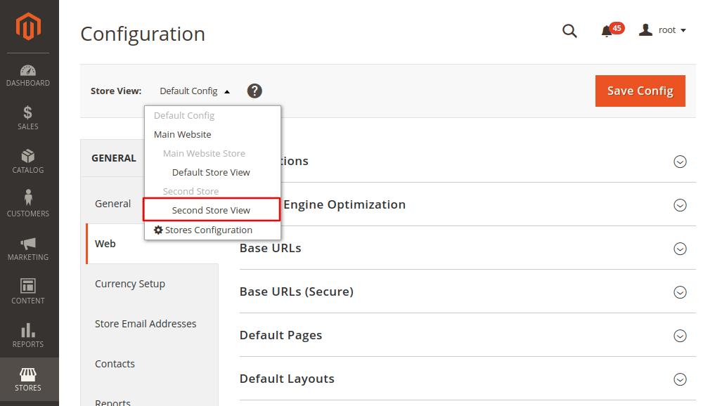 Magento 2 General Configuration