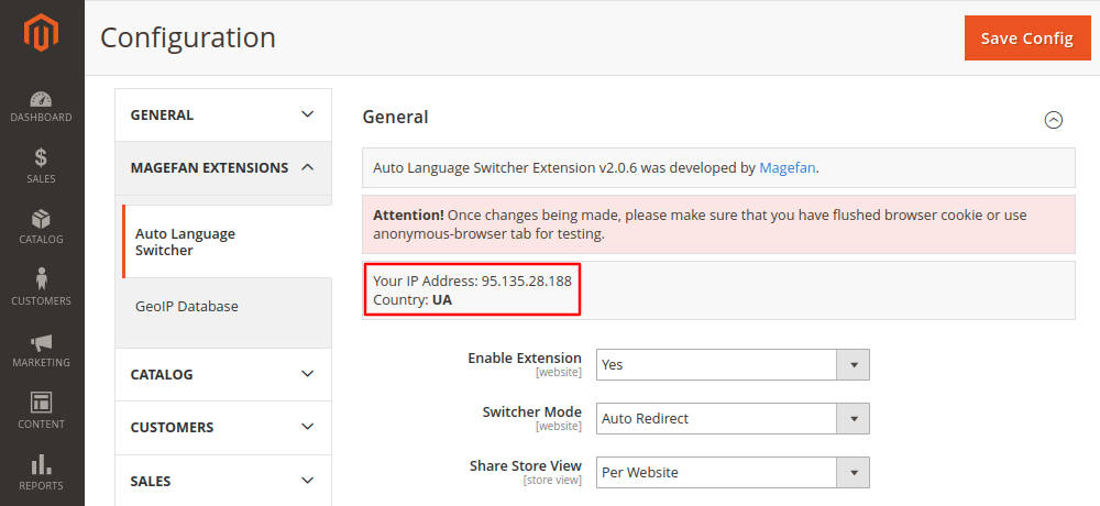 Magento 2 GeoIP