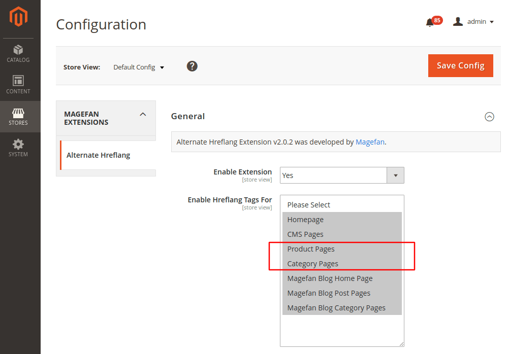 Magento 2 Hreflang Tags for Product and Category Pages