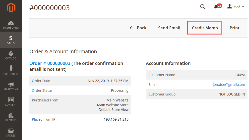 How To Create Credit Memo Refund In Magento 2 Magefan