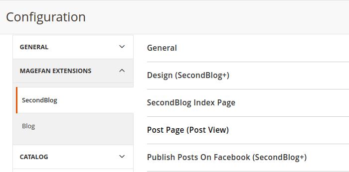 Magento 2 Multi Blog Configuration