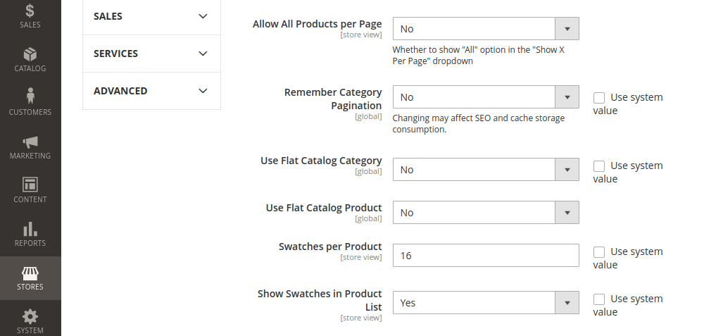 Magento 2 Product Listing