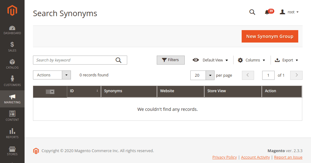 Magento 2 Search Synonyms