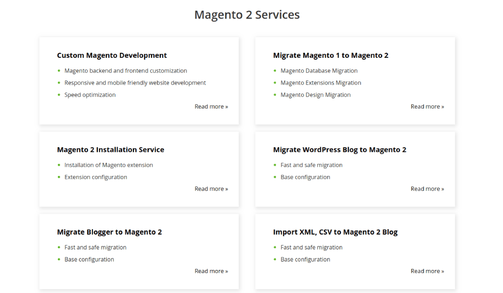 Magento 2 Services