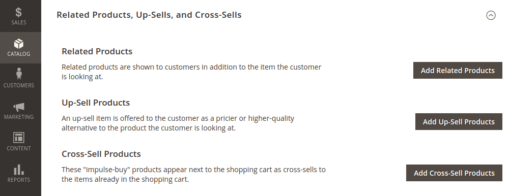 Magento 2 Simple Prodcuts Cross-Sells
