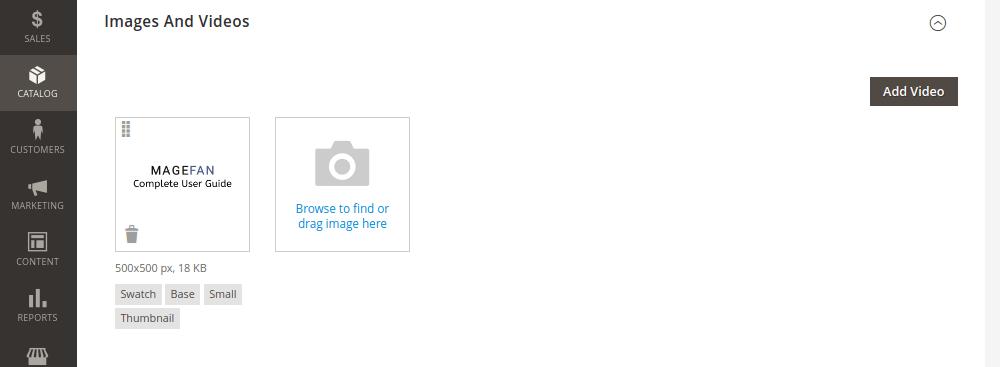 Magento 2 Virtual Product Image