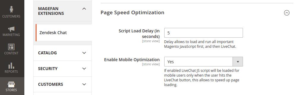 Magento 2 Zendesk Chat Speed Optimization