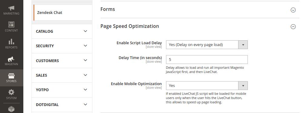 Zendesk Chat Speed Optimization