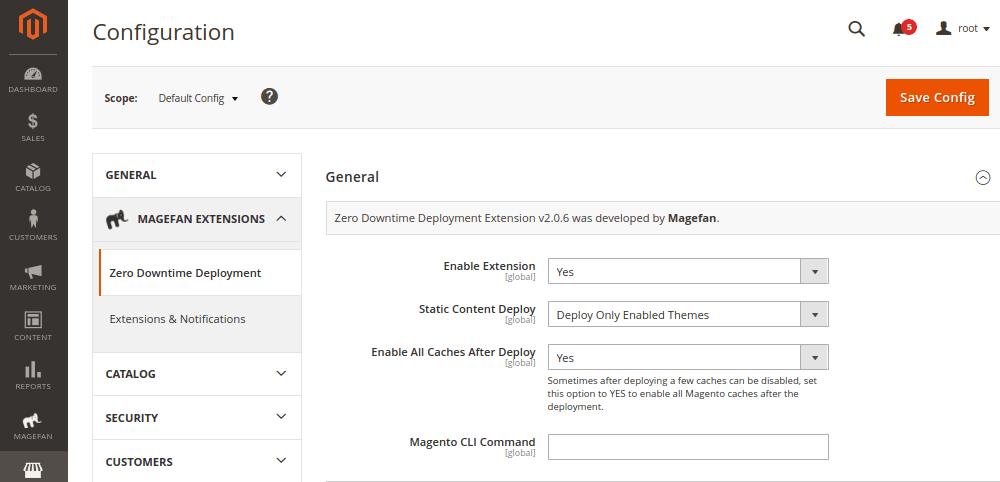 Magento Zero Downtime Deployment Extension