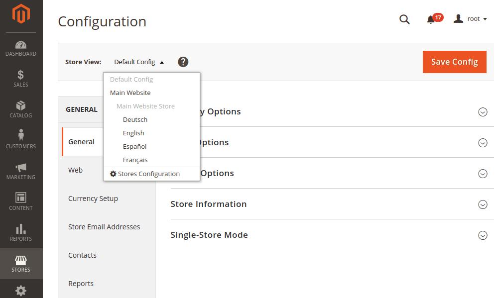 Magento 2 General Configurations