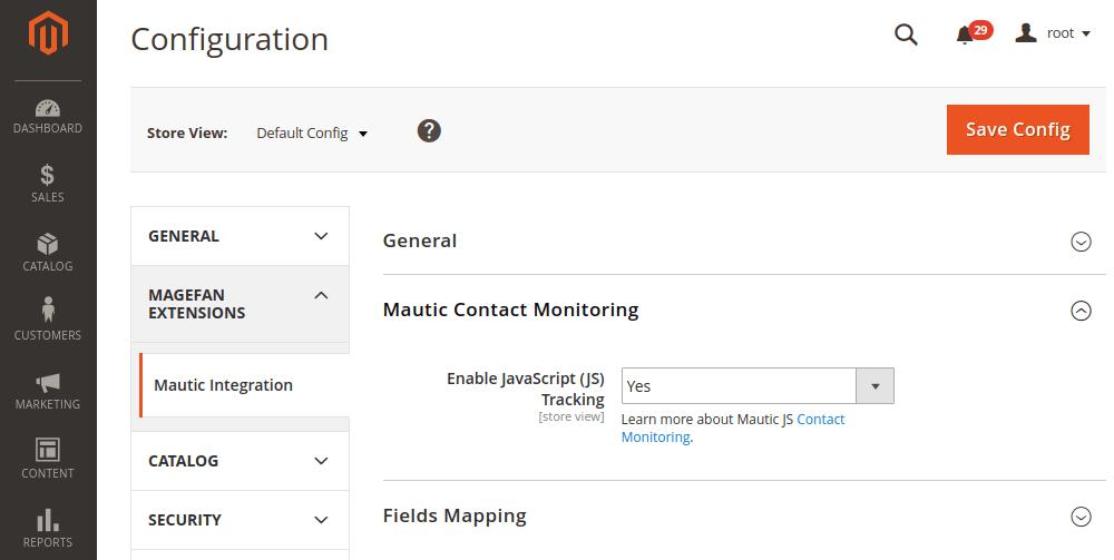 Mautic contact monitoring