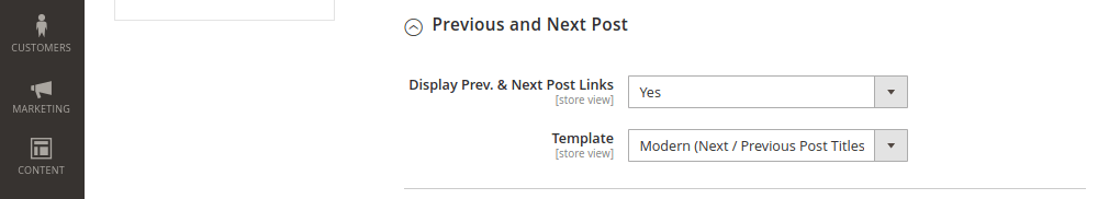 Previous and Next Posts in Magento Blog