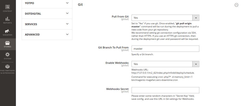 Zero Downtime Deployment via Git