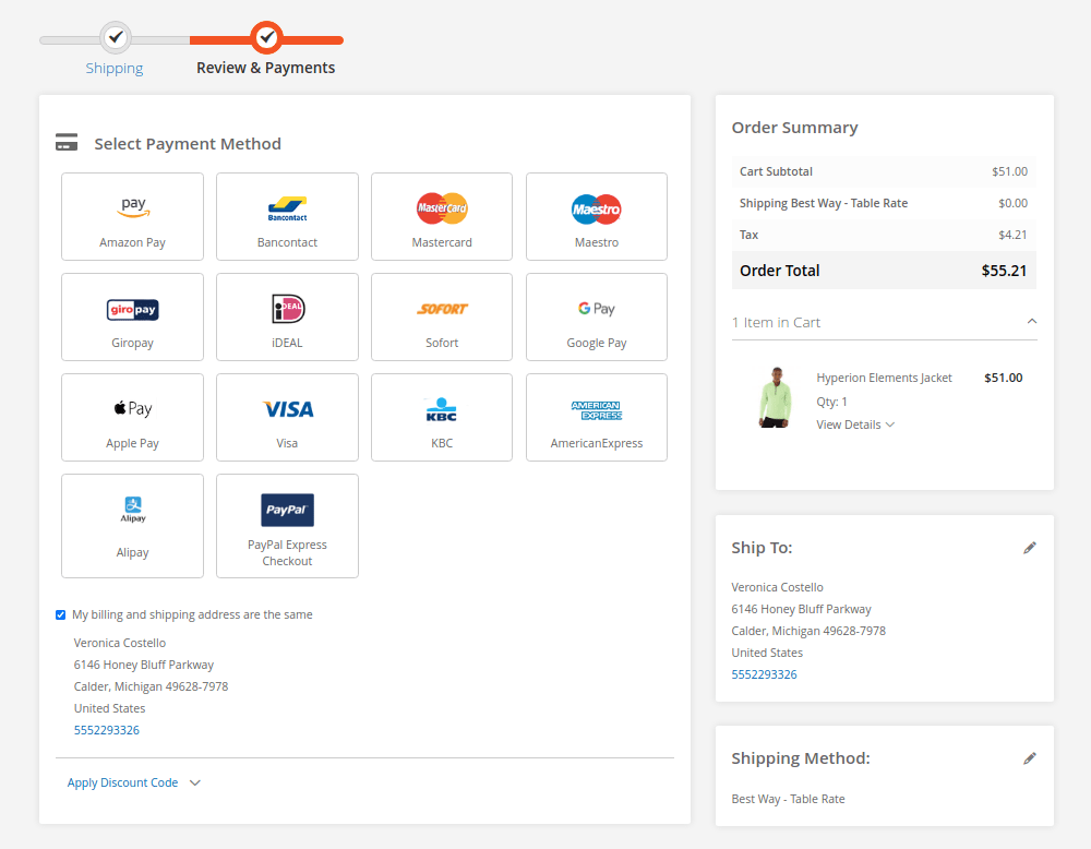 Add Image to Payment Method on Checkout in Magento 2