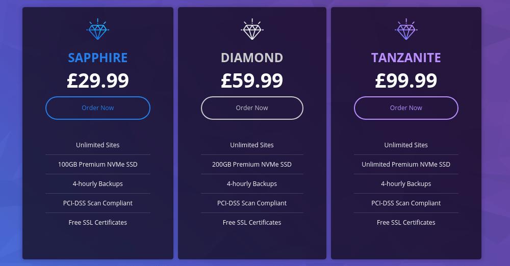 Krystal Hosting Pricing