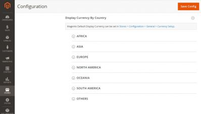 Magento Automatic Currency Switcher / Default Currency by Country