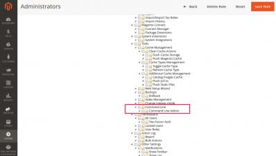 Command Line Access Control List