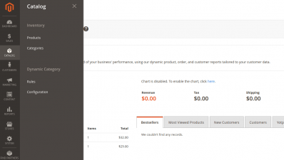 Magento 2 Dynamic Categories Rules Admin Panel