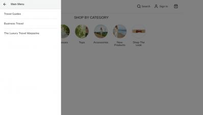 PWA Blog Categories in Magento 2 Menu