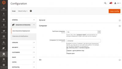 Magento 2 Zero Downtime Deployment Composer Configuration