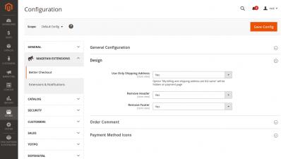 Magento Checkout Page Design
