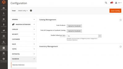 Magento Facebook Catalog Integration