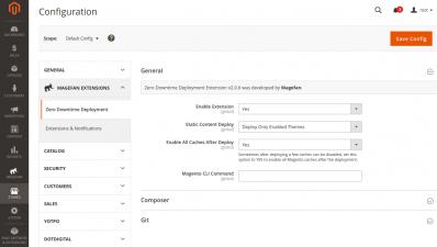 Magento 2 Zero Downtime Deployment General Configuration