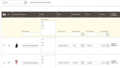 Multiple Product Attributes Editing in Magento 2
