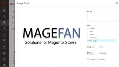 Open Graph Image For Products / Magento 2 Admin Panel