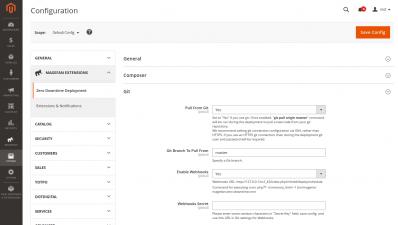 Magento 2 Zero Downtime Deployment GIT Configuration