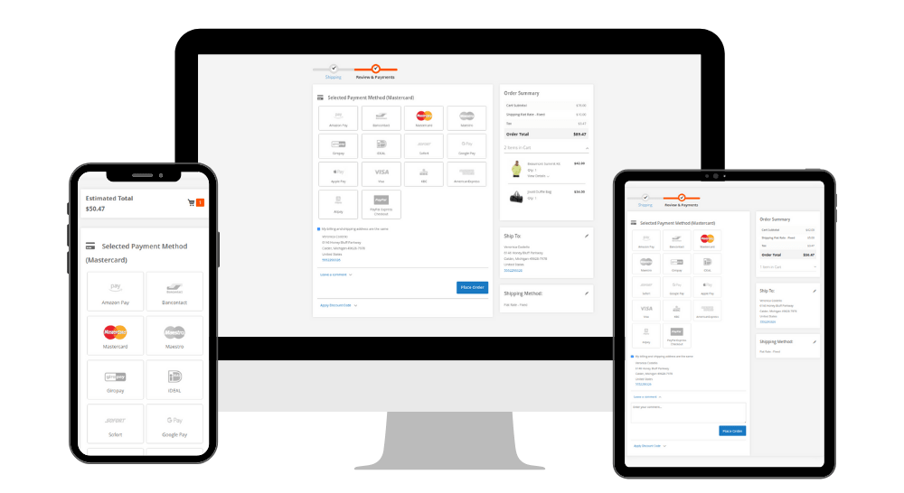 Responsive Checkout in Magento 2