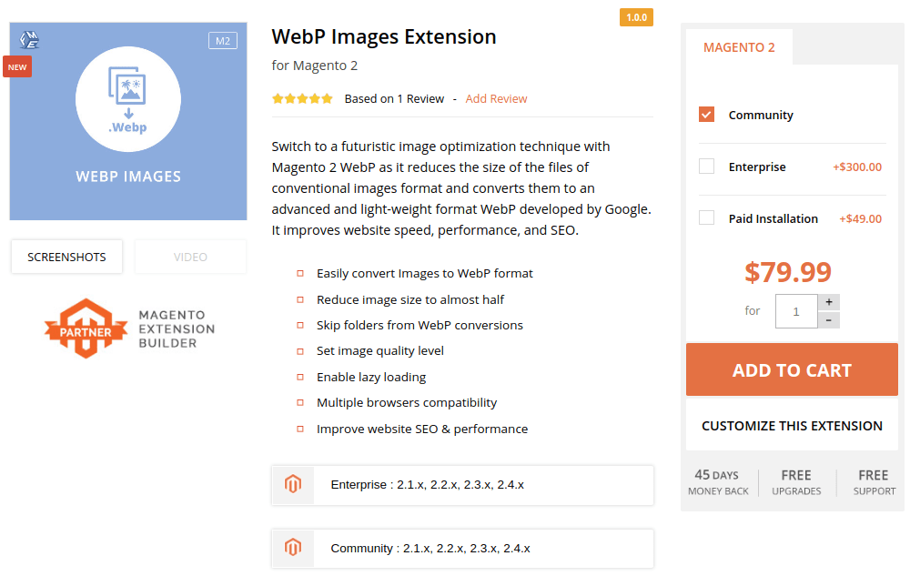 WebP Images by fmeextensions