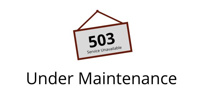 503 Maintenance Page