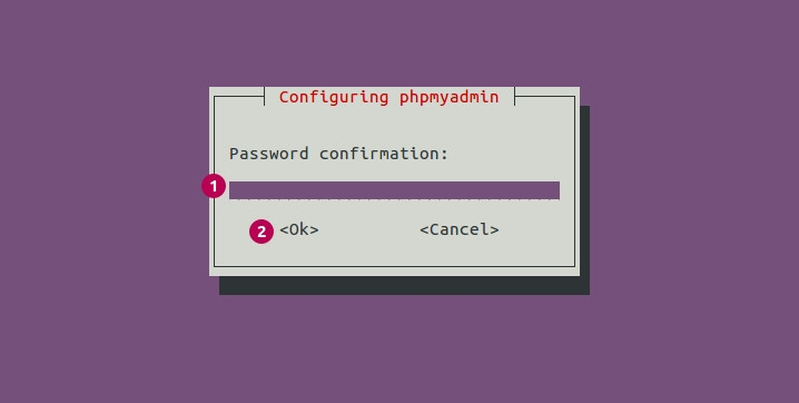 phpMyAdmin Configuration Password
