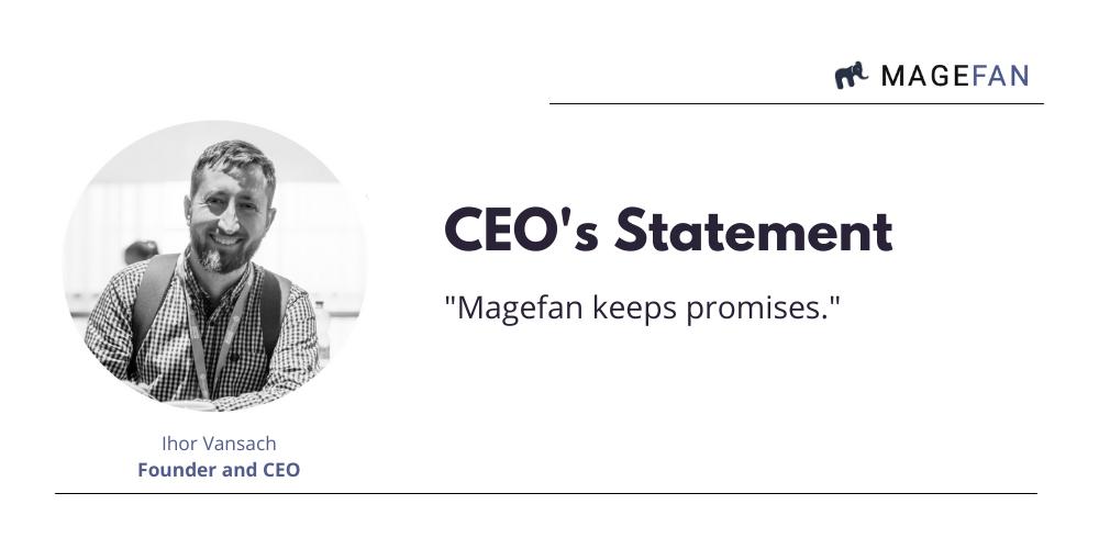 CEO's Statement