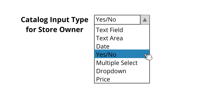 Magento 2 Product Attribute Input Types
