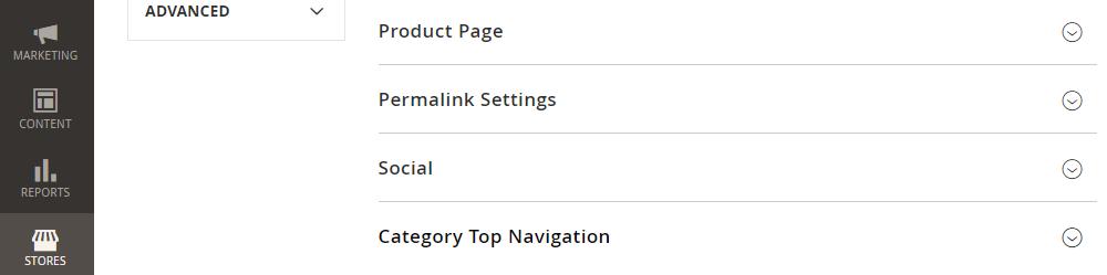 Magento 2 Category Top Navigation